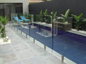 Pool Glass Fence by Glass Protection Guy