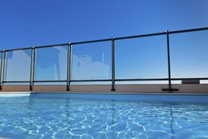 Pool Fence Clear Glass by Glass Protection Guy